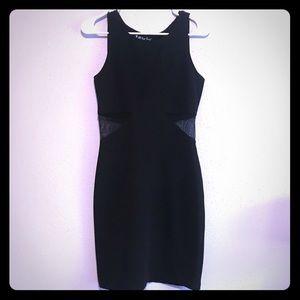 90s Bodycon CutOut Mesh Dress Vintage AllThat Jazz
